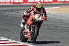 World Superbike Laguna Seca WSBK: Davies beats Sykes to pole by 0.015s