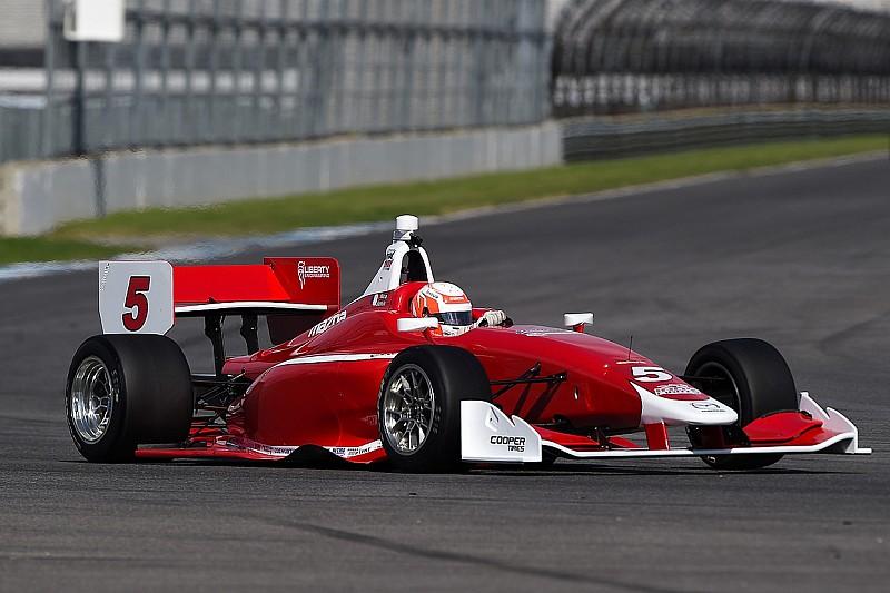 Askew Keane Top The Three Mazda Road To Indy Series At IMS - Mazda racing series