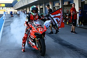 World Superbike Breaking news Juara Superstock, Rinaldi debut World Superbike