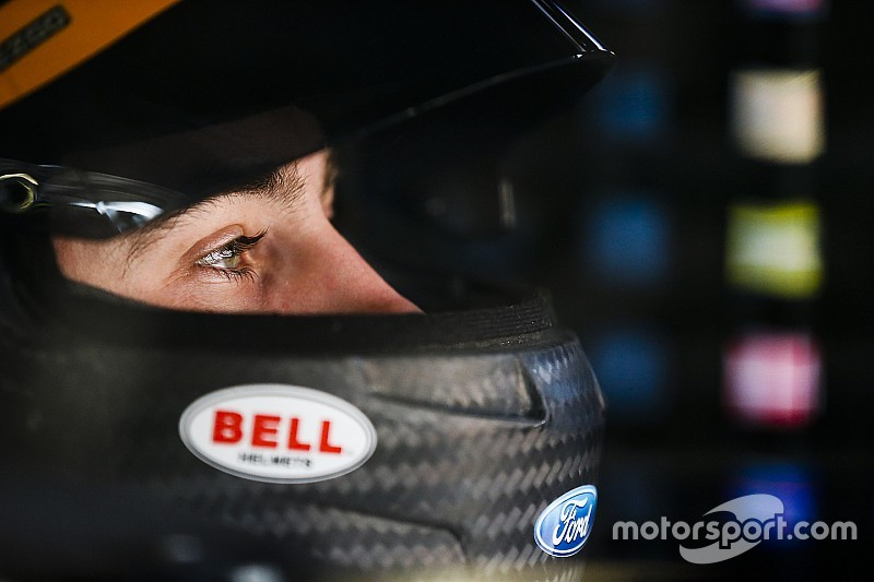 Ryan Blaney leads practice for the Clash at Daytona