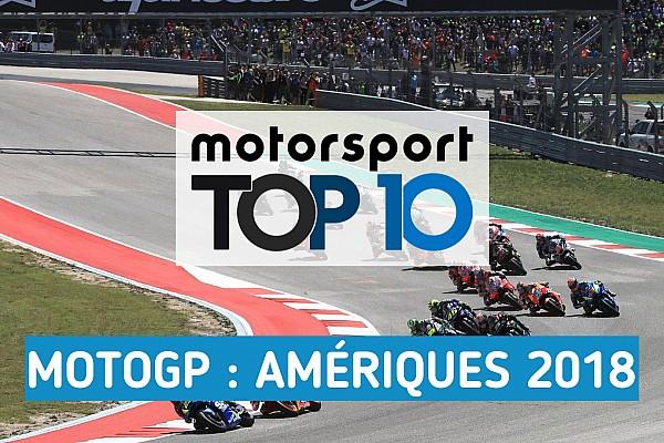 Vidéo - Le top 10 du Grand Prix des Amériques