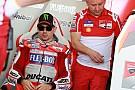MotoGP В Ducati признали успешной адаптацию Лоренсо к мотоциклу