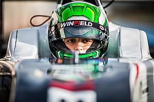Caio Collet du Volant Winfield à la Renault Sport Academy