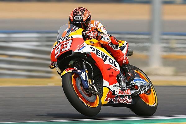MotoGP Testverslag Márquez snelste op door Honda gedomineerde testdag