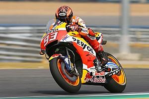 Márquez snelste op door Honda gedomineerde testdag