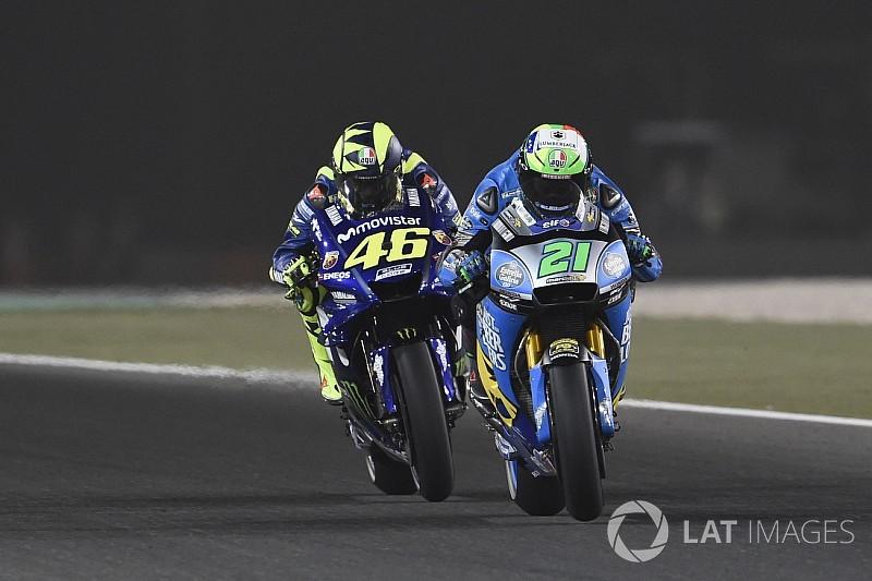 """Rossi : Morbidelli sur une Yamaha en 2019? """"Ça me plairait"""""""