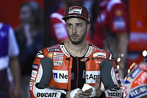 MotoGP Reaktion Dovizioso verpasst erste Reihe - Elektronikprobleme bei Lorenzo