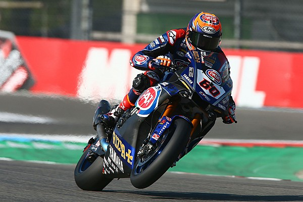 World Superbike Crónica de entrenamientos Van der Mark domina la primera jornada del WorldSBK en casa