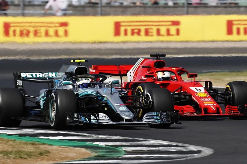 """Vettel nagyon a határon előzte meg Bottast: """"Sikerült meglepnem"""""""