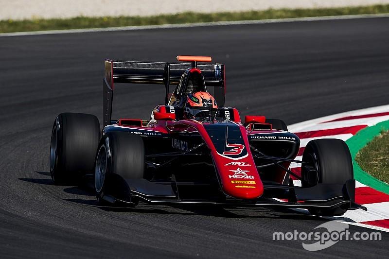 GP3 Barcelona: Mazepin kazandı, ilk üç ART GP'nin