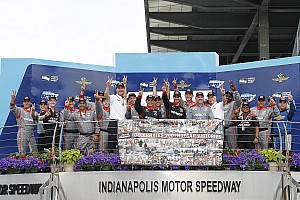IndyCar Yarış raporu Indianapolis IndyCar: Power Team Penske'nin 200. galibiyetini elde etti