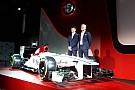El Alfa Romeo-Sauber se presentará por internet