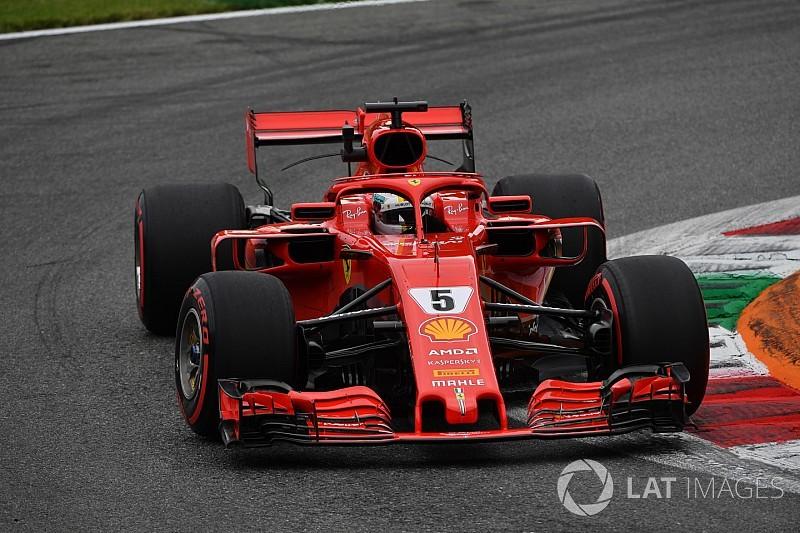 Italian GP: Vettel beats Hamilton by 0.081s in FP3