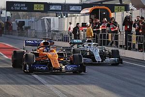 Galería: los F1 2019 ya ruedan en el asfalto de Montmeló