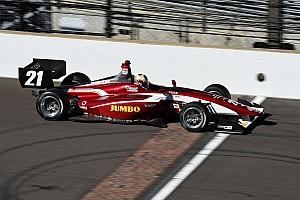 Van Kalmthout met Juncos Racing in Indy Lights