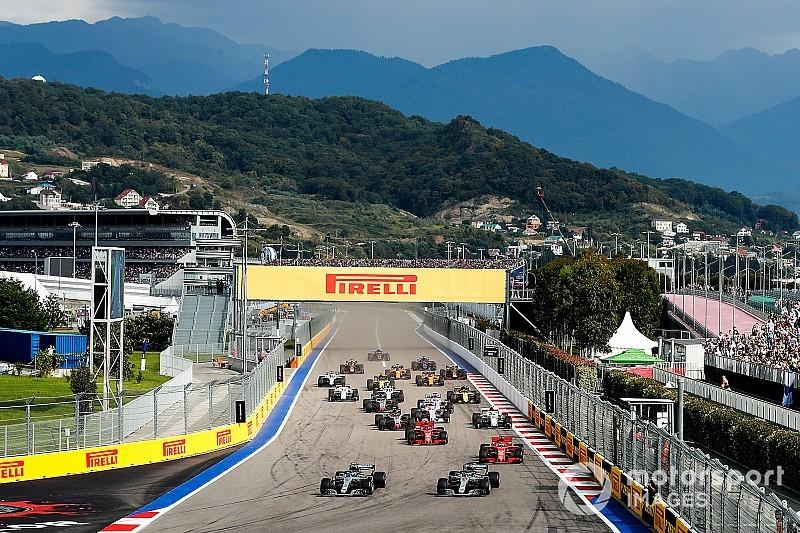 Росія підтримала власників Ф1 перед критикою промоутерів інших Гран Прі