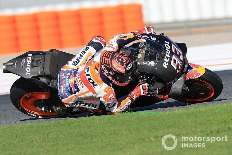 Test MotoGP Valencia, Giorno 2, Ore 14: Marquez rifila 0