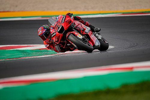 Ducati a testé un carénage pour 2022 et des réglages pour 2021