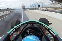 Alonso, Indy 500 antrenmanında kaza yaptı