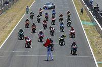 Мотоциклетный Гран При Чехии: стартовая решетка в картинках