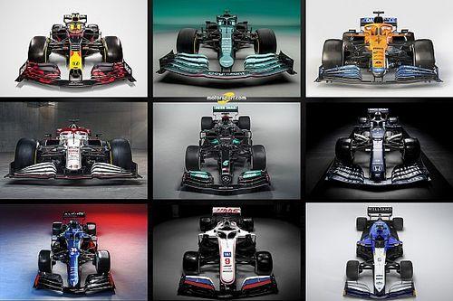 GALERÍA: todos los coches para la F1 2021