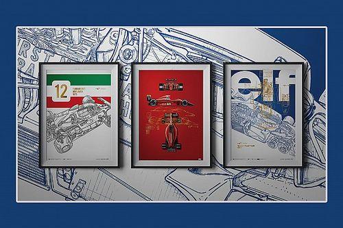 Giorgio Piola Releases Artwork Series Celebrating Formula One History