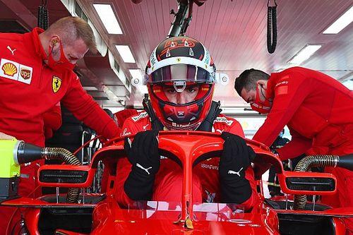 Sainz y Ferrari cierran el test de 18 pulgadas con 125 vueltas