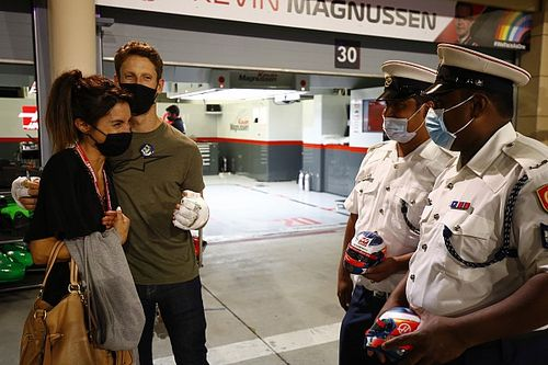 """غروجان يشكر رجال الإطفاء """"الذين أنقذوا حياته"""" في البحرين"""