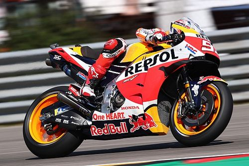 Маркес триумфально вернулся на вершину подиума MotoGP в Германии