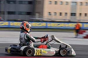 Kart Race report Travisanutto wins WSK Super Masters race at Sarno as Joyner spins