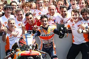 """MotoGP Noticias de última hora Márquez: """"Rossi es el más consistente, merece un gran respeto"""""""