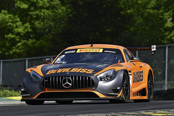 PWC Virginia PWC: Ex-F1 ace Johansson's crash ends SprintX race two early