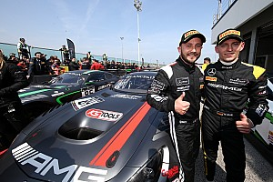 Blancpain Sprint Race report Buhk, Perera win first leg of Blancpain Sprint finale
