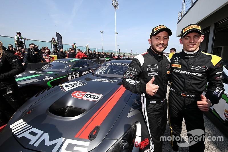 BSS на Нюрбургринзі: Бук і Перера виграли кваліфікаційну гонку