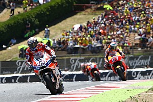 MotoGP Race report Barcelona MotoGP: Dovizioso beats Hondas for second straight win