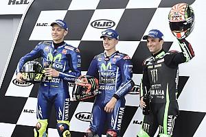 MotoGP Qualifying report Le Mans MotoGP: Vinales leads all-Yamaha front row