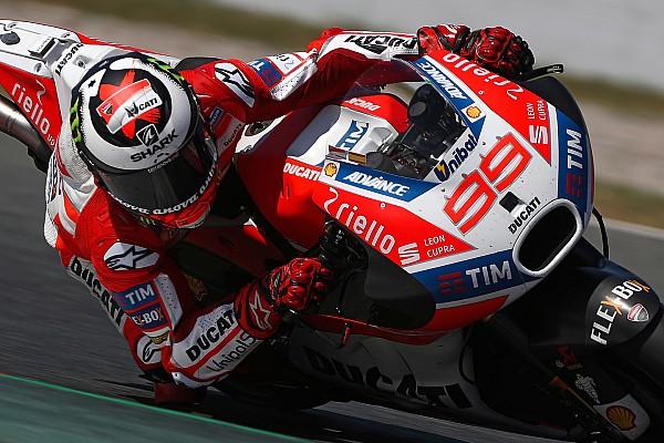 "MotoGP Breaking news Lorenzo says revised Barcelona layout ""made for Honda"""