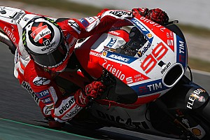 "MotoGP Breaking news Lorenzo says revised Barcelona layout ""made for Honda"""
