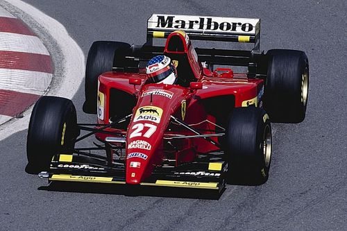 How Alesi battled tears to take his only F1 win