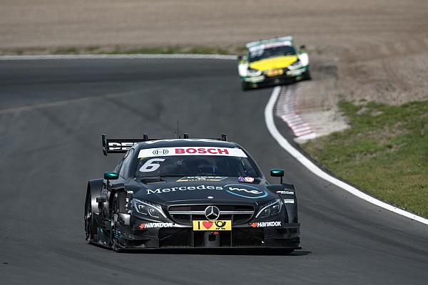 Уикенс выиграл вторую гонку DTM на «Нюрбургринге», Ауэра развернуло