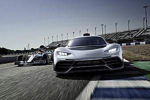 Автомобілі Спеціальна можливість Mercedes представила гіперкар Project One на основі технологій Ф1