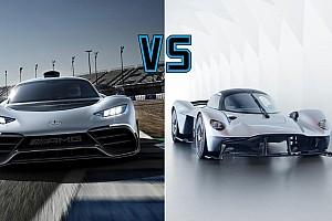 Autó Motorsport.com hírek Project One vs. Valkyrie - egymásnak feszül a két hiperautó