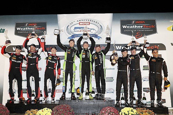 IMSA Petit Le Mans: ESM Nissan conquers after bizarre final stint
