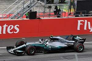 Formula 1 Special feature Story behind the photo: 'Flying Finnish' for Bottas