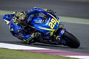 MotoGP Breaking news Iannone trying to imitate Vinales' riding style on Suzuki