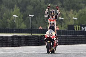 MotoGP Últimas notícias Márquez brilha em Brno: imagens do domingo