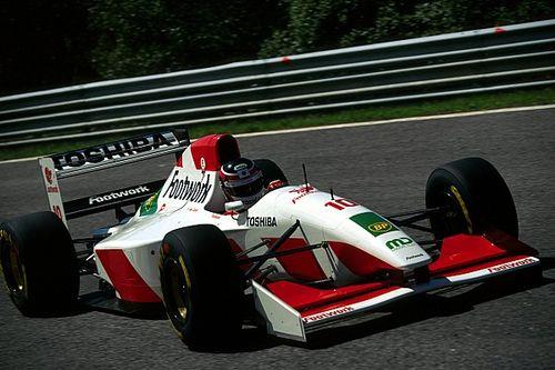 【日本人F1ドライバーの系譜】美しきF1マシン:「速いが脆い……鈴木亜久里、予選トップ10常連に」フットワークFA14