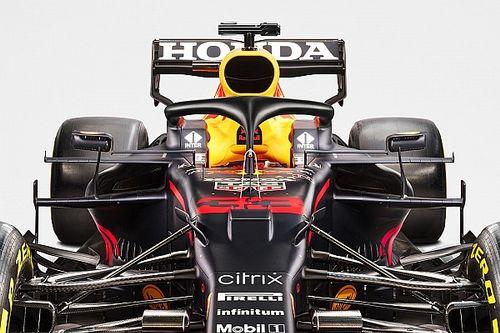 GALERÍA: el nuevo coche de Red Bull y Sergio Pérez, el RB16B
