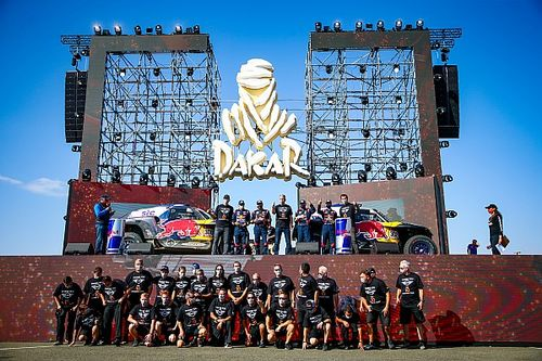 Kronika video z Rajdu Dakar - Etap 12