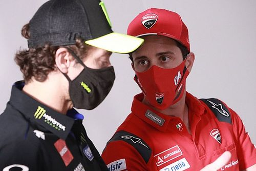 """Rossi: Dovizioso is """"an important name"""" for MotoGP"""